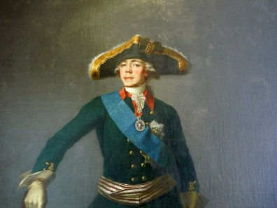 Emperor Paul I, son of Catherine the Great