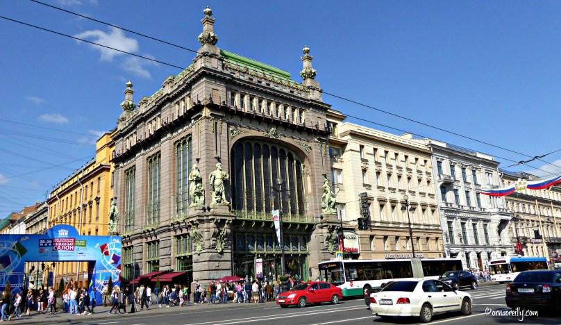 The Elisseff Emporium on Nevsky Prospekt