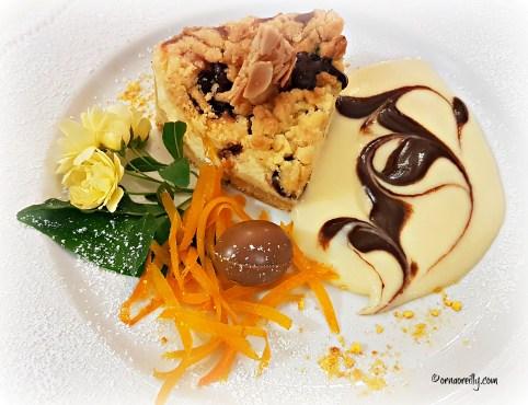 Easter dessert at Il Frantoio