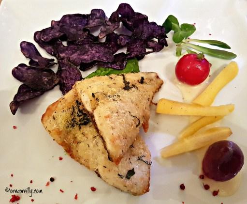 Fish and chips Pugliese style at La Piazzetta, Ostuni