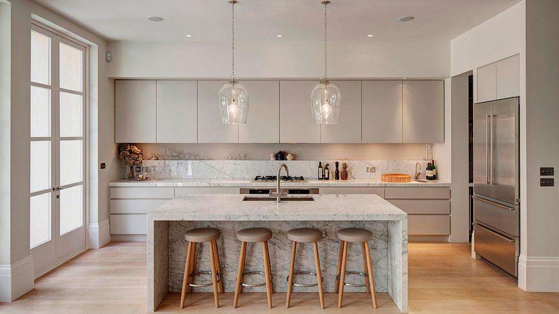 Disea una cocina fcil de limpiar  Ornia Home