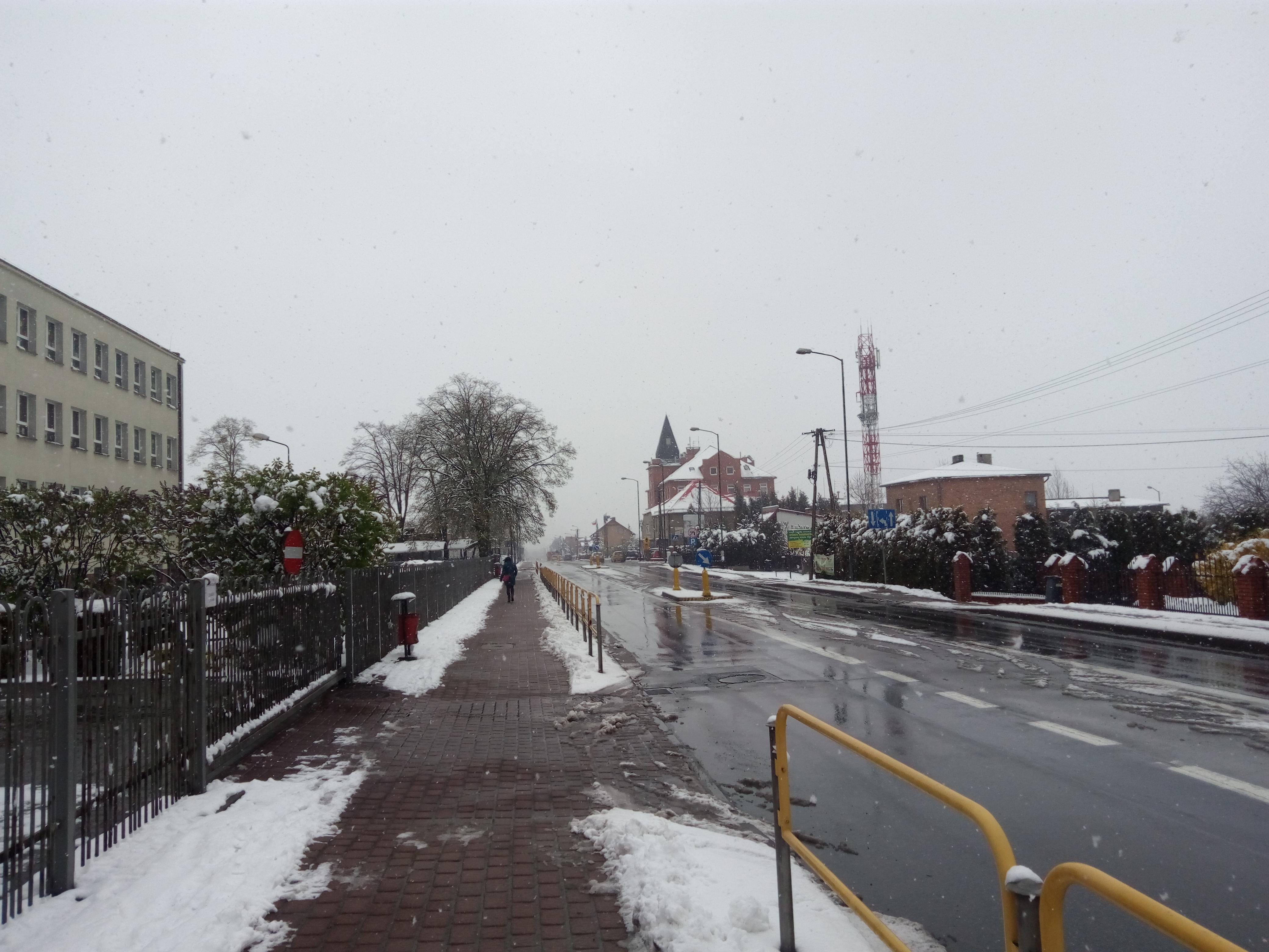 Zima w Ornontowicach