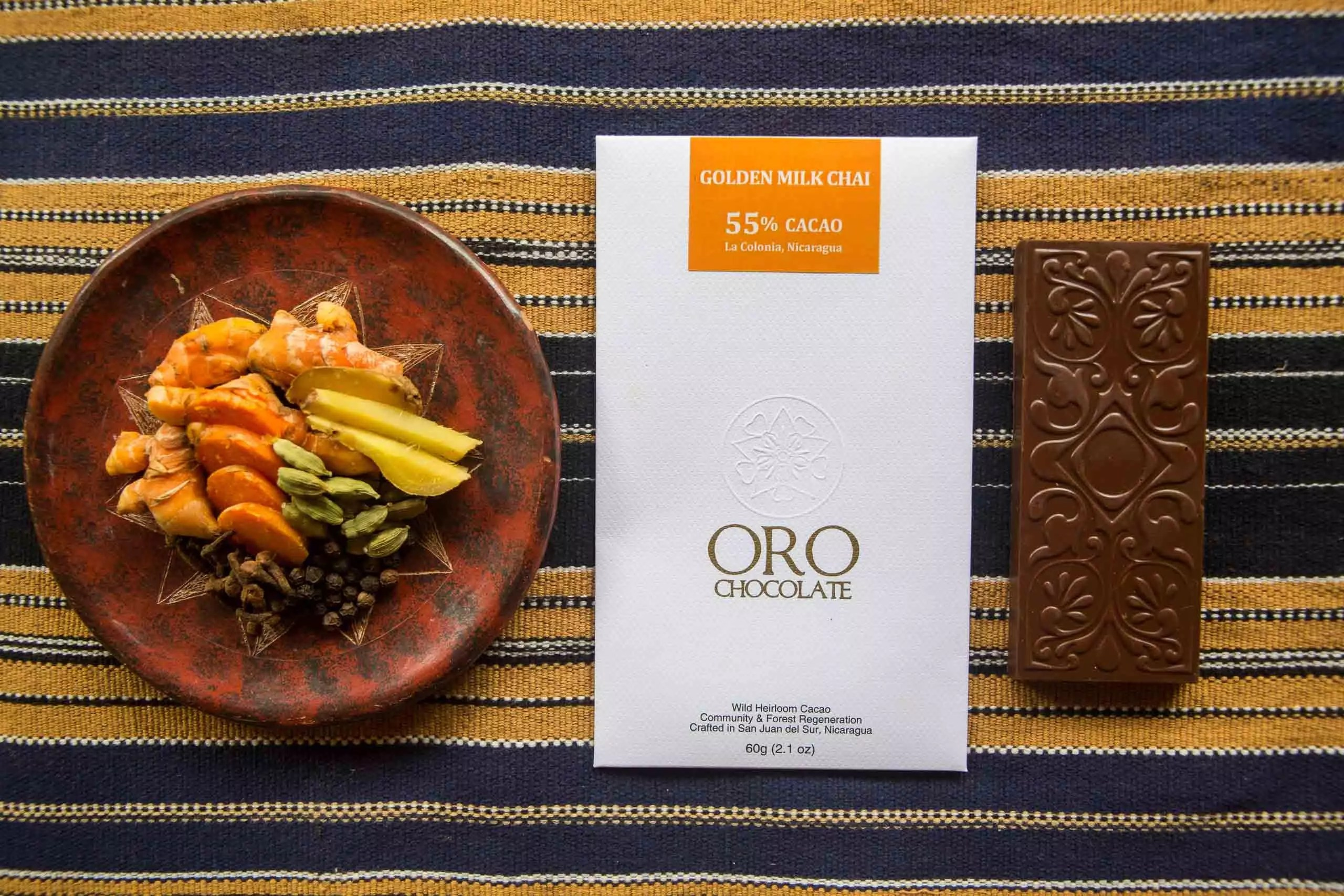 Oro Chocolate Golden-Milk-Chai-9 Wholesale