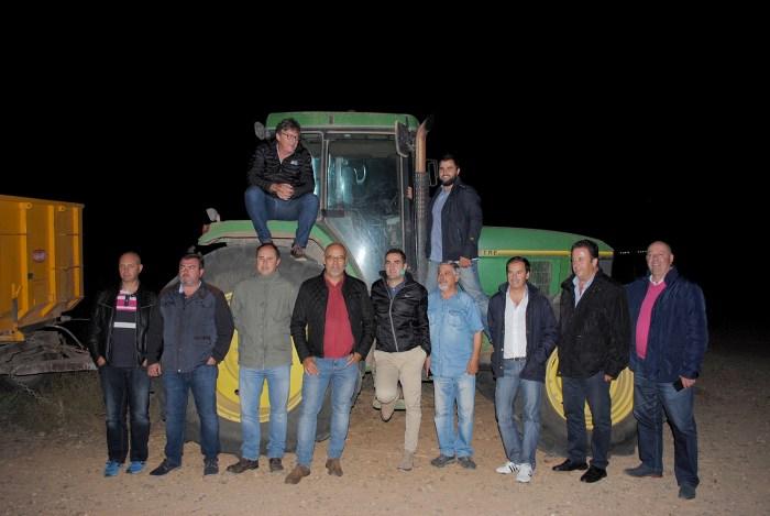 Conociendo Oro de Castilla en plena noche de vendimia