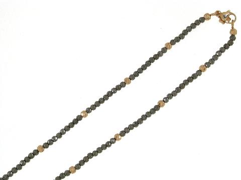 Girocollo in oro nero: vendita oro, gioielli, bigiotteria