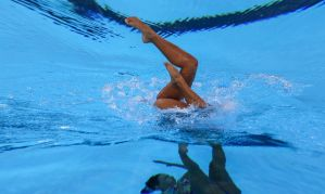 Nado artístico terá seletiva virtual fora d'água para torneio online