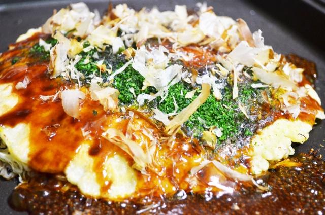 ぬか玄(顆粒)を温かいものに混ぜてもOKなら『お好み焼き』に入れてみた!その味は・・・いったい???