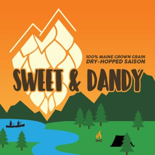 SWEET & DANDY DRY-HOPPED SAISON