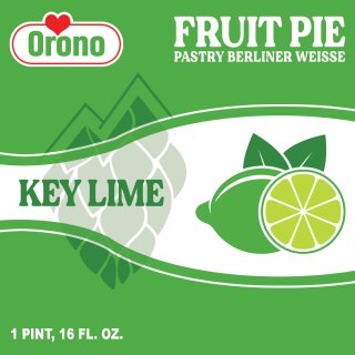 FRUIT PIE BERLINER WEISSE (KEY LIME)