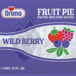 FRUIT PIE BERLINER WEISSE (WILD BERRY)