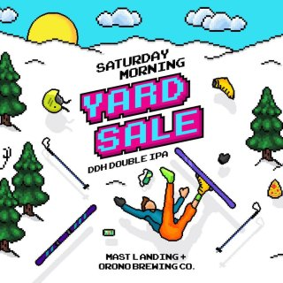 SATURDAY MORNING YARD SALE