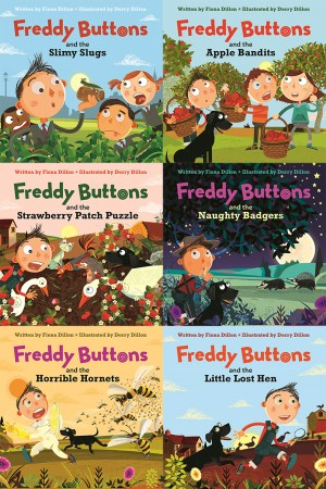Freddy Buttons (6 story series)