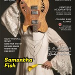 The American Blues Scene Magazine featuring an interview with Samantha Fish and includes our Over The Pain album review by Andrew Smith.
