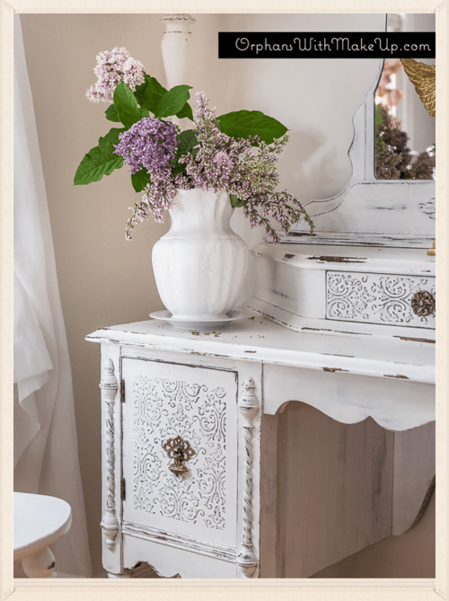 M s white dressing table 57