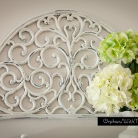 HANGING SCROLLWORK (UPCYCLED DOOR MAT)