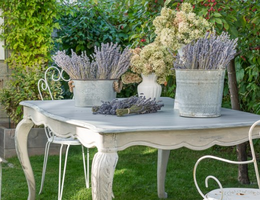 TABLE MAKEOVER: Layered Look With Milk Paint