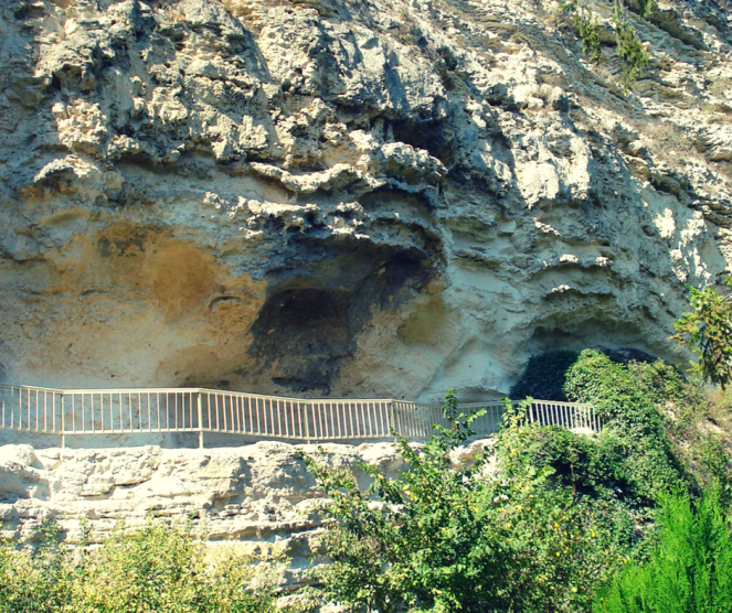 Aladzha monastery.png
