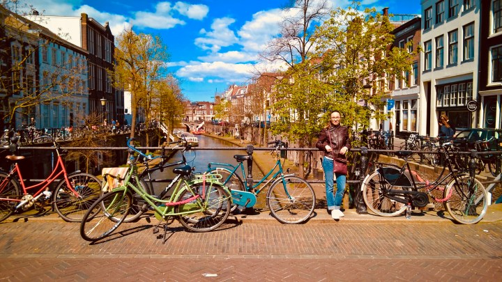 Oudegracht and the beautiful canals of Utrecht