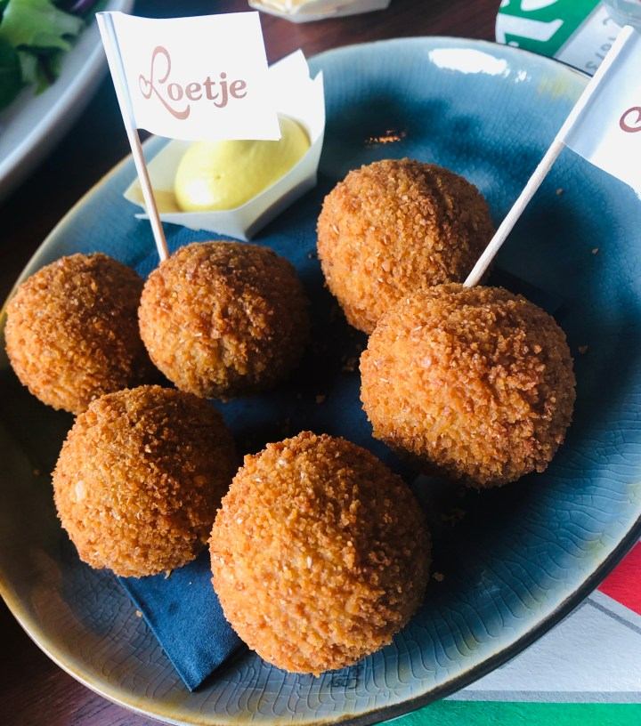 Favourite international bites - Dutch bitterballen