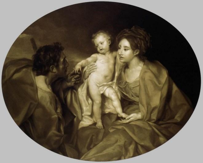 La saint famille (Anton raphael Mengs)