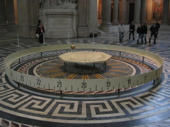 Pendule de Foucault du Panthéon de Paris (Source : Wikimedia common)