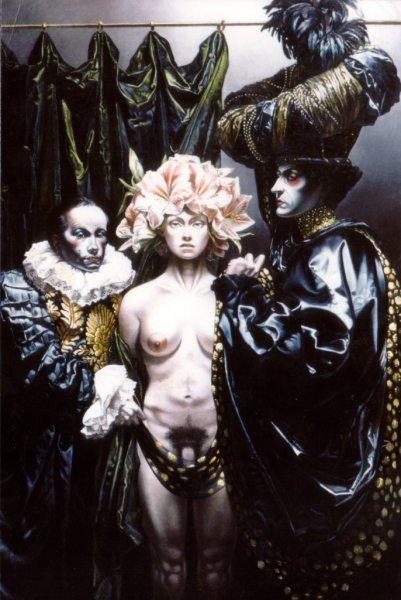 L'hermaphrodite, Thierry Bruet