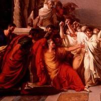 4 x Caesars doodsscène (1953-2007)