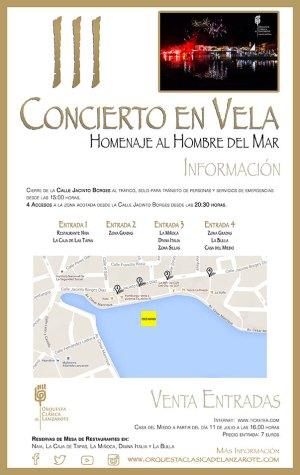 Acceso Concierto en Vela