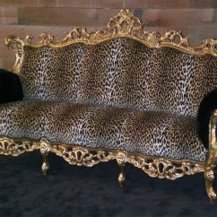 Leopard Print Sofa Appears Cama Con Abatible Attractive Cheetah Couch Sofas