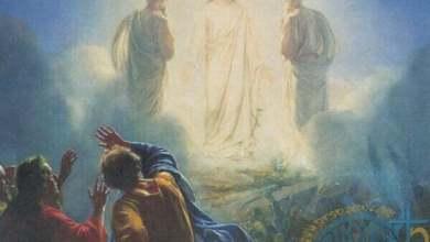 رب المجد يسوع مع ايليا وموسى النبي