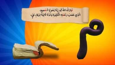 حرف و آيه - م - مبارك الله - قيامه - قناة كوچى القبطية الأرثوذكسية للأطفال.