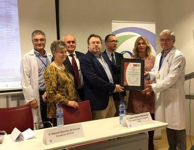 Entrega al HUCA de la Certificación de Excelencia del Grupo Español de Trabajo en Enfermedad de Crohn y Colitis Ulcerosa