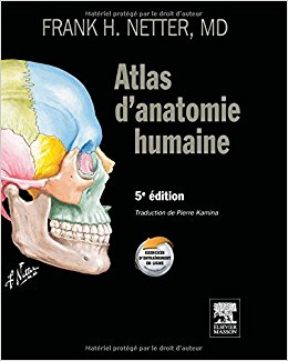 "Ouvrages Ortho-bionomy ""Atlas d'anatomie humaine"""