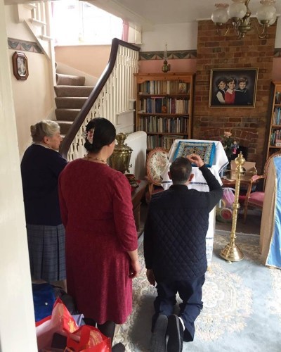 The Kursk-root icon visiting homes in the East of England