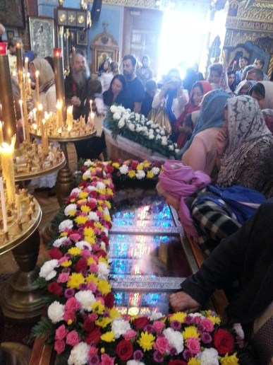Faithful venerate the incorrupt relics of St John of San Francisco