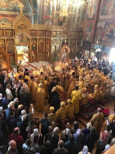 Little Entrance of the Divine Liturgy, St John's 25th Anniversary