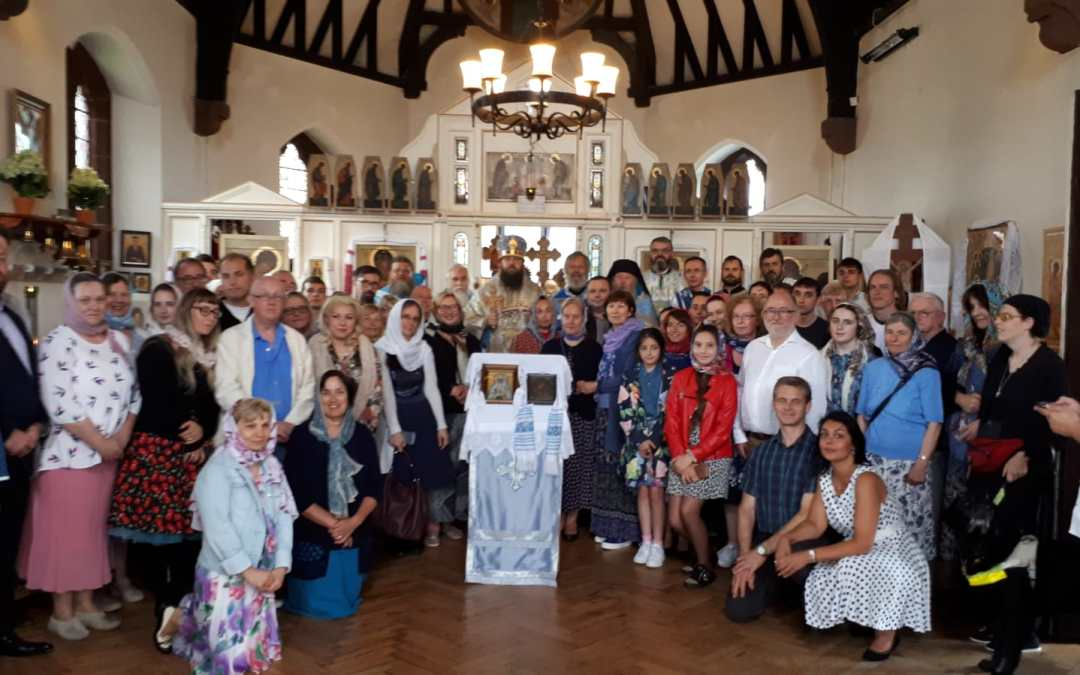 The Feast of the Kazan Icon is celebrated in Wallasey by Bishop Irenei, marking the 10th Anniversary of St Elisabeth's Parish