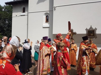 Cross procession for the Royal Martyrs, London 2019