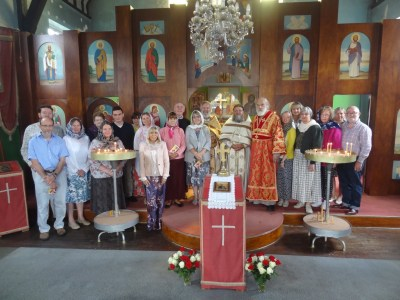 The first Liturgy is celebrated in Telford