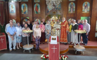 First Liturgy is Celebrated at the New Mission Community of St Chad in Telford