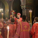 Bishop Irenei and Bishop Alexander Concelebrate the Altar Feast of the Cross in Geneva