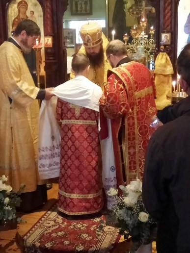 Divine Liturgy at the Resurrection of Christ Parish, Brussels, 2019