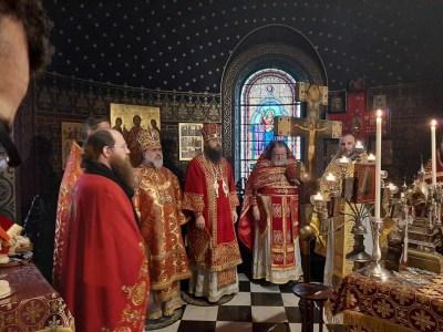 Divine Liturgy of the Feast of St Barbara, Vevey, 2019