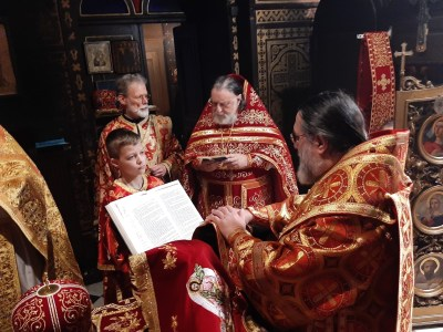 Deacon Aviv is ordained as Priest by His Grace Bishop Alexander