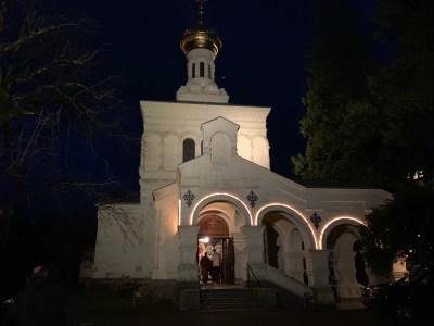 The Parish of St Barbara in Vevey, Switzerland