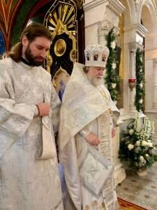 The Diocese's Senior-most Cleric Receives a High Award from the Holy Synod | Старейший священнослужитель епархии получил высокую награду от Архиерейского Синода