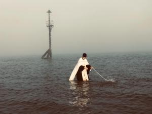 Theophany in Northern England Celebrated with the Blessing of the Mersey