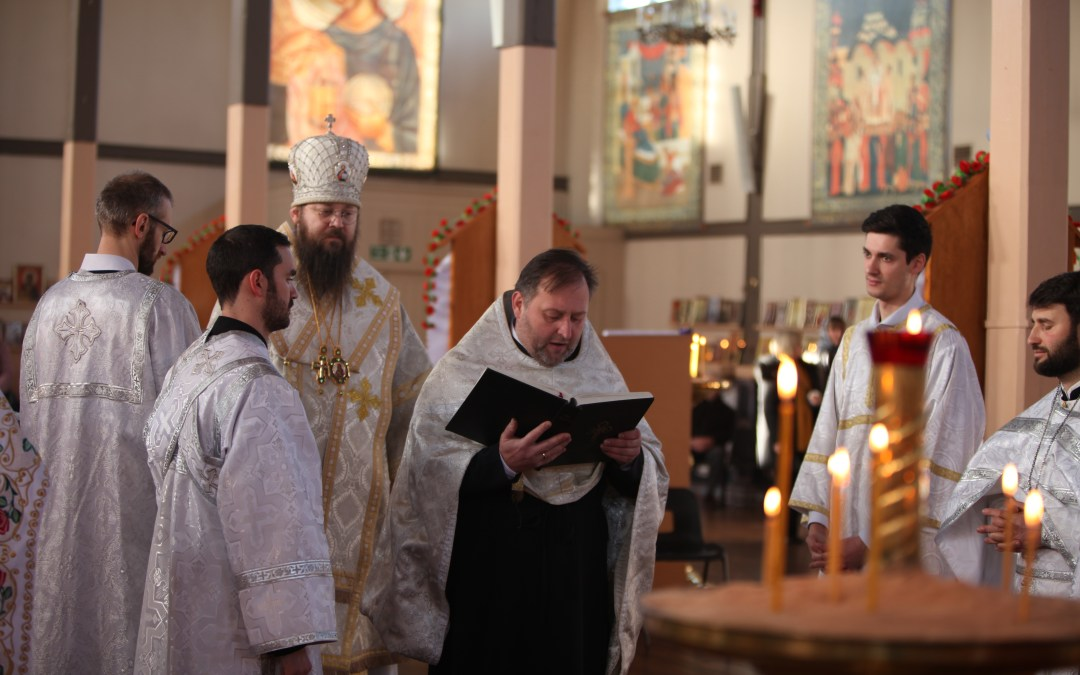 The Feast of the Theophany of Christ is Celebrated in Colchester, with the Tonsure of a New Reader | В день Праздника Богоявления Христова в Колчестере состоялся постриг в чтецы