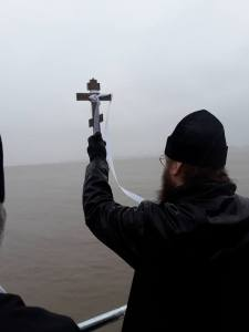 London Cathedral and Wallasey Parish Bless Nearby Rivers for Theophany - Photo report