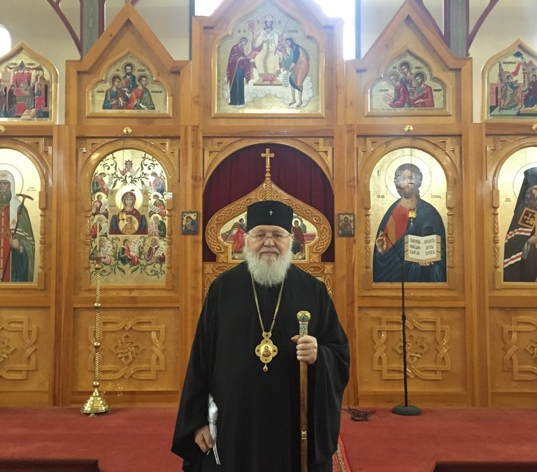 Report of the January 2017 Visit of Metropolitan Hilarion to the Diocese of Great Britain and Ireland